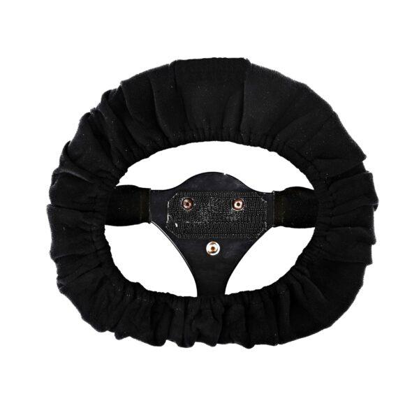 Steering-wheel-cover-black